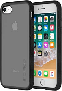 Incipio Octane iPhone 8 & iPhone 7 Case with Textured Bumper and Hard Shell Back for iPhone 8 & iPhone 7 - Smoke/Black