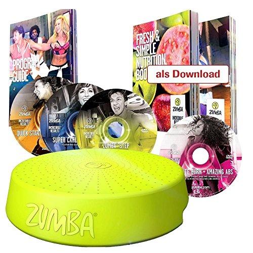 Mediashop Zumba Fitness Tanz System mit Zumba Rizer und 4 CDs und vielen Extras