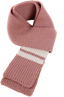 UPAKING Bohemia Boy Girl Perforated Knitting Shawl Contrast Stripes Rectangle Scarf——Simple and Fashion