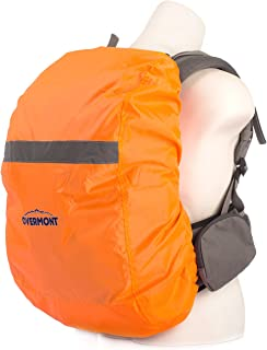 Overmont Reflective Waterproof Rainproof Backpack Case Cover for Night Outdoor Activities Camping Hiking Traveling