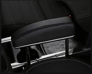 Car Elbow Support Pads Car Central Adjustable Height Comfort Armrest Rest Pads for General Seat Gap Car Driver,Black1