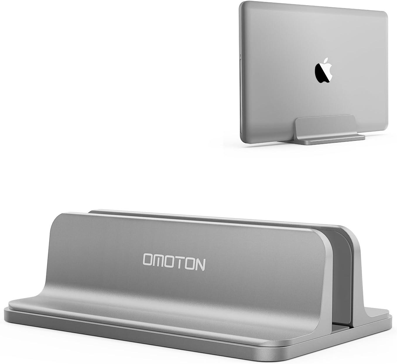 Soporte ajustable laptops hasta 17.3 pulgadas omoton gris