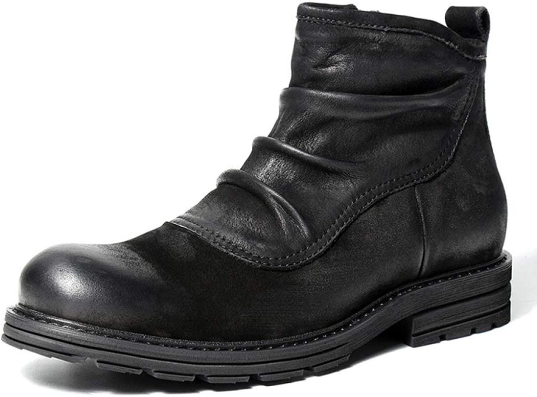 Mens Desert Chelsea Boots Martin Ankle Boot Vintage Vintage Vintage Leather skor Work Utility Footwear Födelsedagspresent  professionellt integrerat online köpcentrum