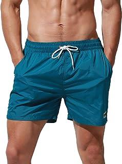 DESMIIT メンズ 速乾水着 パンツ 海パン 人気 旅行 短パン ビーチパンツ サーフト ファッションダイブトランクス