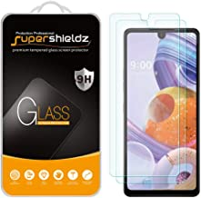 (2 Pack) Supershieldz for LG Stylo 6 Tempered Glass Screen Protector, Anti Scratch, Bubble Free