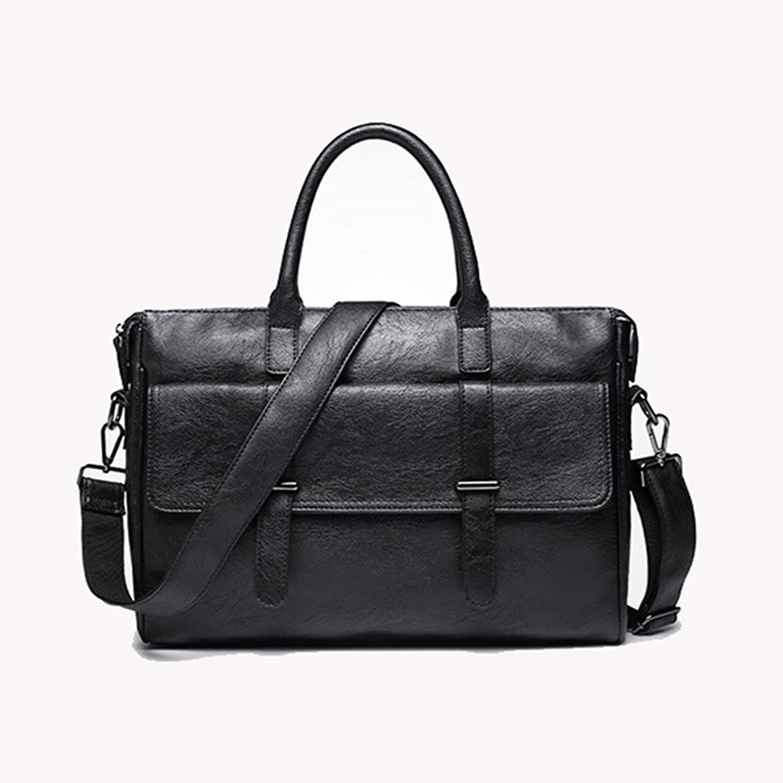 YXNGBO Man's 15 ' Laptop Laptop Laptop Paket Umhängetasche Handtasche Mode Freizeit Leder Aktenkoffer Umhängetasche B07HC5XWRX  Angemessener Preis 353da4