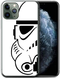 eSwish Gel TPU Phone Case/Cover for Apple iPhone 11 Pro/Stormtrooper Design/Assault Trooper Helmet Collection