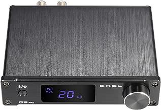 ammoon S.M.S.L Q5 pro Mini Portable HiFi Digital 3.5mm AUX Analog/ USB/ Coaxial/ Optical Stereo Audio Power Amplifier Amp Remote Controller