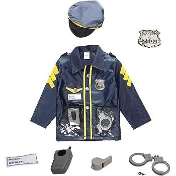 Disfraz De Policía De Disfraces Para Niños Juego De Ropa Juego De ...