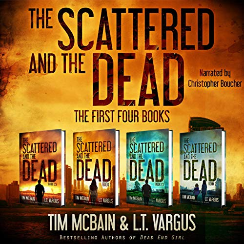 The Scattered and the Dead Series: The First Four Books audiobook cover art