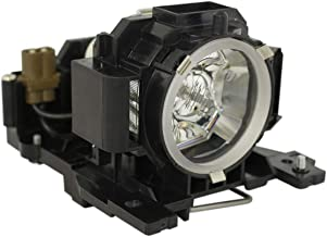 L/ámpara de repuesto con carcasa para proyectores HITACHI CP-A100 CP-A101 ED-A100 ED-A110 HCP-A8 Woprolight DT00891