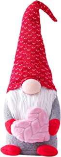 Valentines Gnomes Plush Decorations -Valentines Day Mr & Mrs Handmade Swedish Tomte Stuffed Gnomes Plush Doll Ornaments,Va...