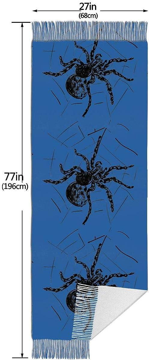 Spider Web. Winter Scarf Cashmere Scarves Stylish Shawl Wraps Blanket