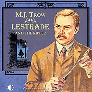 Lestrade and the Ripper audiobook cover art