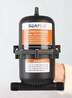 Tanque acumulador presurizado SEAFLO 0.75 / 1.0 litros
