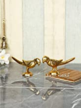 CraftVatika Parrot Showpiece Statue Handcrafted Metal Parrots Show Pieces Decorative Items for Home Decor Living Room Wall...