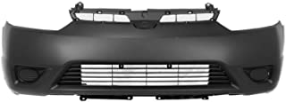 MBI AUTO - Painted to Match, Front Bumper Cover for 2006 2007 2008 Honda Civic Coupe, HO1000237