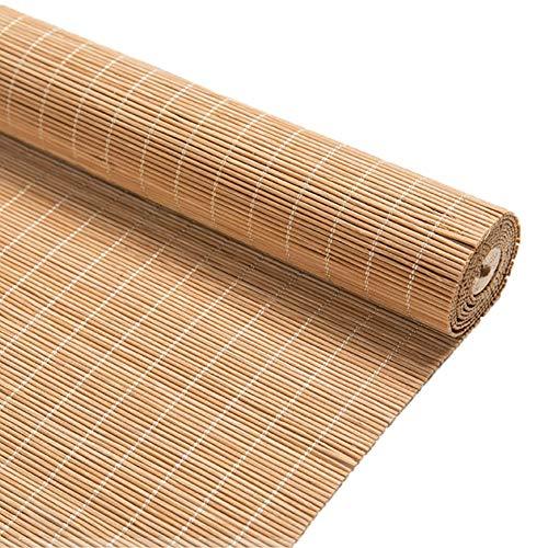H.ZHOU Al Aire Libre de bambú carbonizado Persianas Persiana de Efecto Invernadero, protección UV Protector Solar, Cubierta Patio al Aire Libre Gazebo Pergola Porche Jardín Toldos Parasol G5105