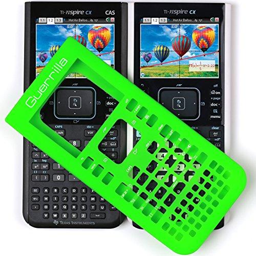 Guerrilla Silicone Case for Texas Instruments TI Nspire CX/CX CAS Graphing Calculator, Green Photo #8
