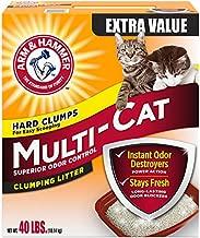Church & Dwight Arm & Hammer Multi-Cat Litter, 40 Lbs (Packaging May Vary)