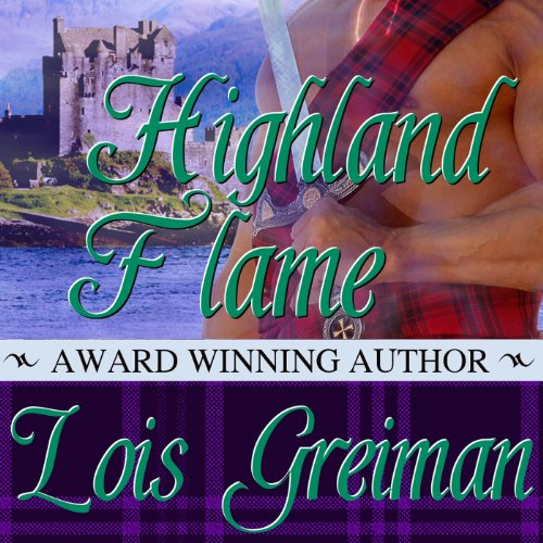 Highland Flame audiobook cover art