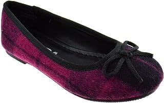 b244c0ae3910 JELLY BEANS Jona IIS Little Girls Cloth Bow Ballet Flats