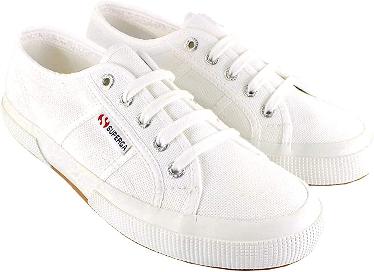 Superga 2750 Cotu Classic Mens Canvas Shoes Green UK11 US 12