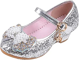 Girls Performing Dance Shoes Princess Shoes Silver,EU 30//12.5 M US Little Kid