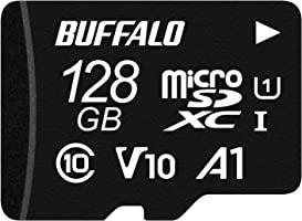 緩沖 microSD 128GB 100MB/s UHS-1 U1 【 適用于Nintendo Switch/行車記錄儀 】V10 A1 IPX7 Full HD 支持恢復數據 RMSD-128U11HA/N