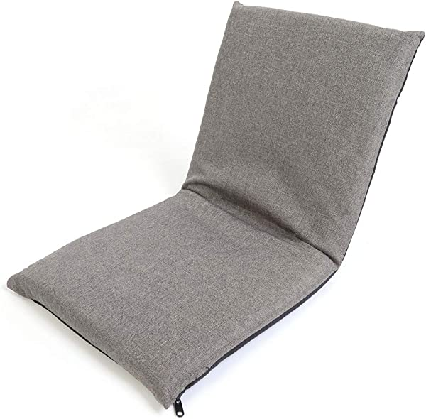Floor Chair With Adjustable Backrest Folding Floor Gaming Lounge Sofa Chair 6 Positions Adjustable Couch For Bedroom Living Room