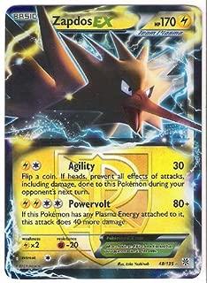 Pokemon - B&W Plasma Storm - Holofoil - Zapdos EX - 48/135