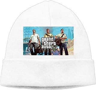 Unisex Gta V Grand Theft Auto 5 Logo Beanies New Wool Caps Hats Fits Most