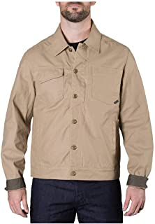 5.11 Tactical Men's Backlands Jacket, Dual Pockets, Coyote, Large, Style 78015