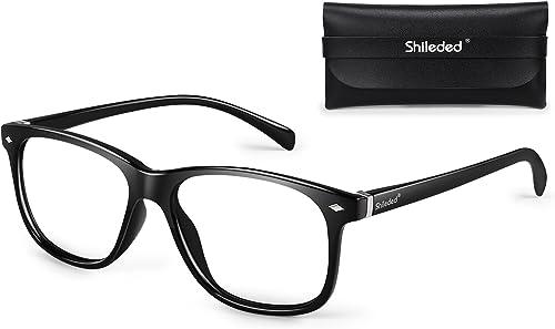 Blue Light Blocking Glasses Anti Eyestrain Computer Glasses Anti Blue Light, Anti Glare Reading Gaming Glasses for Me...