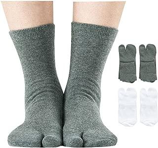 mens split toe socks