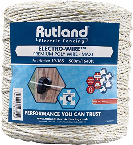 Blanco Woodstream Essentials Plus Alambre 250 m x 2.5 mm