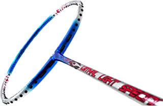 APACS Lethal Light Special UNSTRUNG Badminton Racket-Blue and Silver