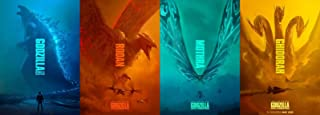 HandTao Godzilla King of The Monsters 2019 Movie Poster 36x13