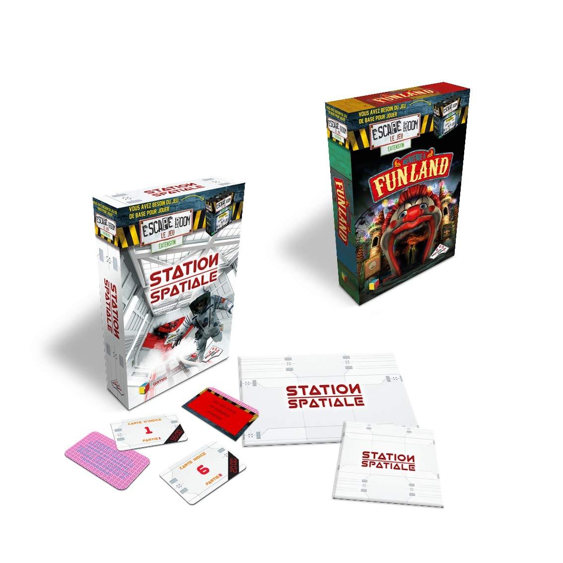 RIVIERA GAMES Pack Expert Escape Room El Juego: Amazon.es: Juguetes y juegos