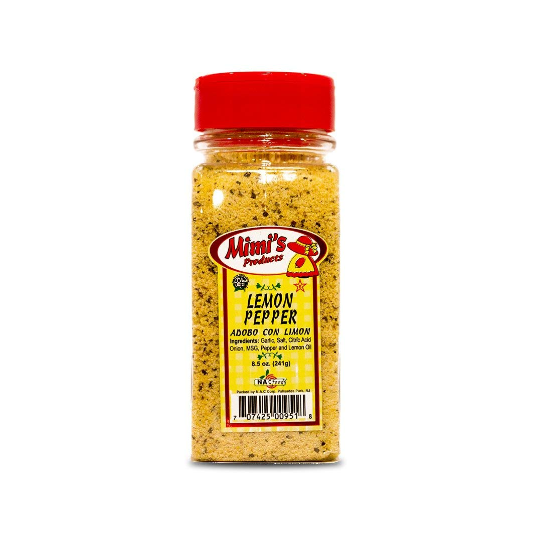 Mimi's Products Lemon Pepper Award-winning store 8.5 Case Count Bottle- 12 Ounce Quantity limited