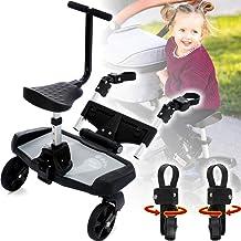Buggyboard  Zusatzsitz Erweiterung SET für Kinderwagen Buggy Jogger Kind Board