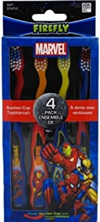 Dr. Fresh Toothbrush 4 Count Marvel Heroes (6 Pack)