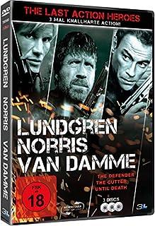 The Last Action Heroes: Lundgren / Norris / Van Damme [3 DVDs]