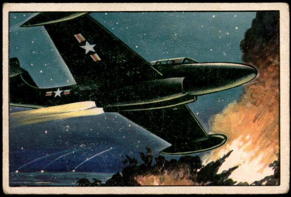 1951 Max 69% OFF Bowman Jets Rockets and Spacemen Card Max 73% OFF 38 Scorpion # VG