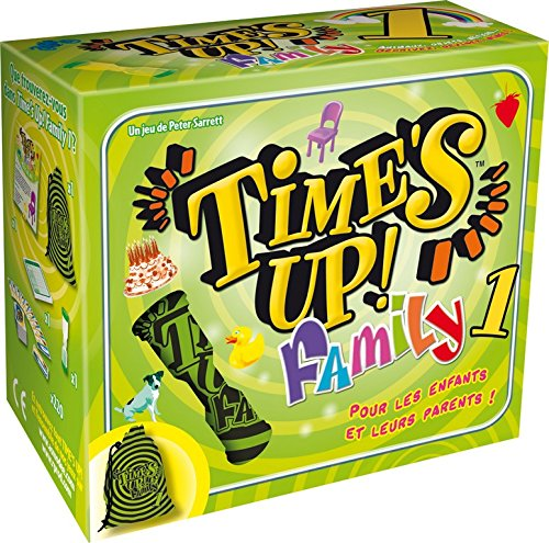 Asmodee - TUF1 - Jeu d'Ambiance - Time's Up! Family 1 - Vert