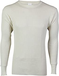 Indera Big & Tall Men's Thermal Crew Shirt Heavyweight Long Johns