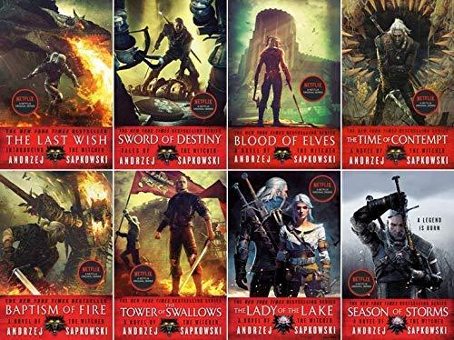 Witcher Series by Andrzej Sapkowski 8...