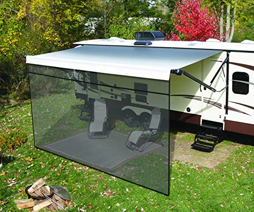 Solera 3797820617 Super Front Panel | Outdoor Patio Shade for RV and Travel Trailer Awnings, 6' x 17'