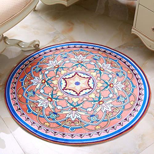 SENKAIRUI Europa Almohadas Estilo de Equipo Jacquard alfombras de Yoga alfombras y tapetes para el salón Cama Alfombra, 4,60x60cm