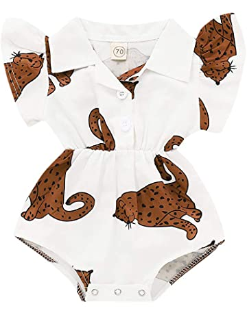 31f6cb39495fc ベビー服 可愛い 赤ちゃん クライミングスーツ 新生児 半袖ラペルプリント ロンパース 女の子 パジャマ ルームウエア 春夏
